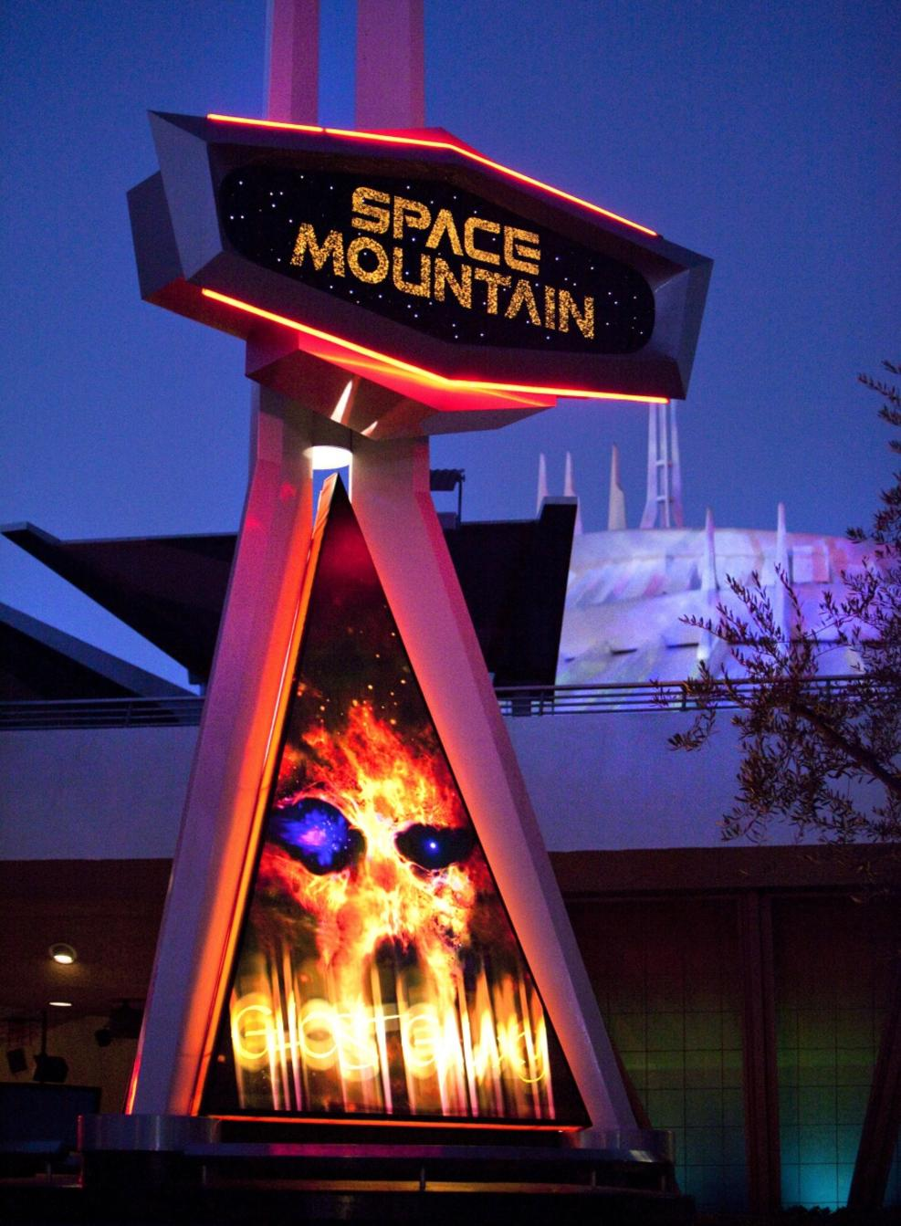 Space Mountain Ghost Galaxy