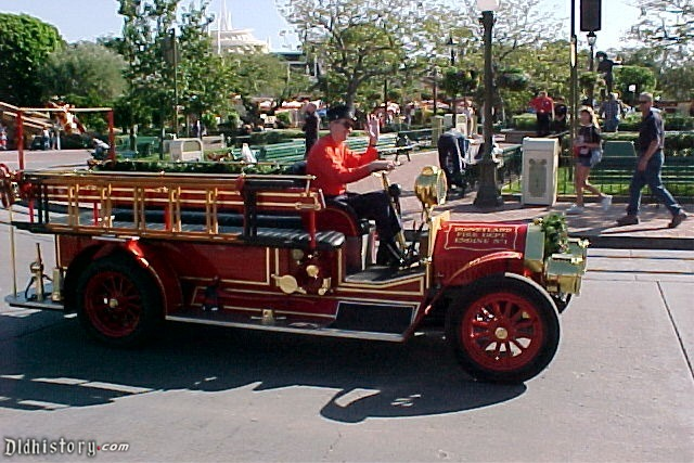Motorized Fire Truck