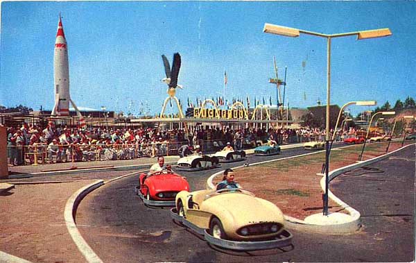 Tomorrowland Autopia