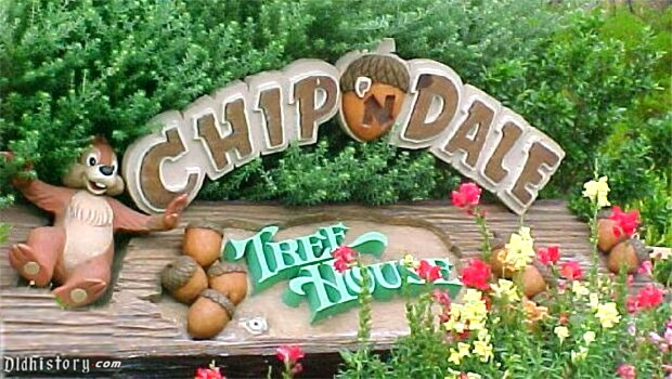 Chip n Dale Tree House