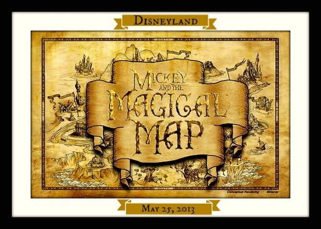 Mickey And The Magical Map Poster
