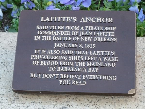 Lafitte Anchor Poster