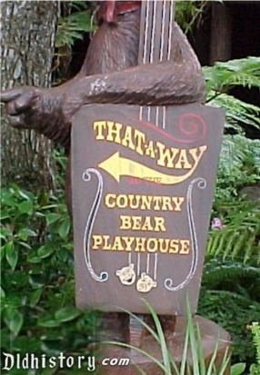 Country Bear Playhouse Poster