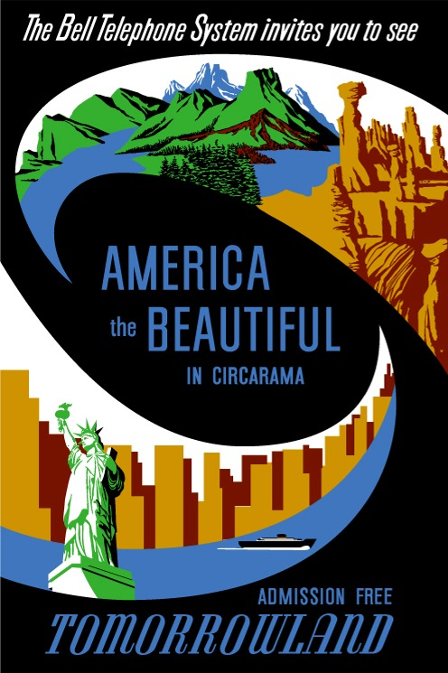 America The Beautiful (Circarama) Poster