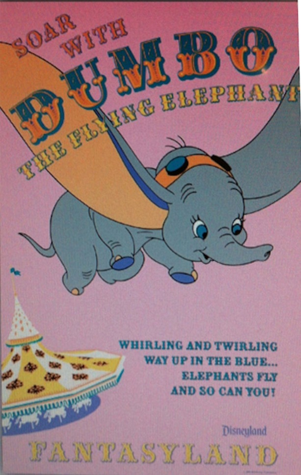Dumbo The Flying Elephant Poster
