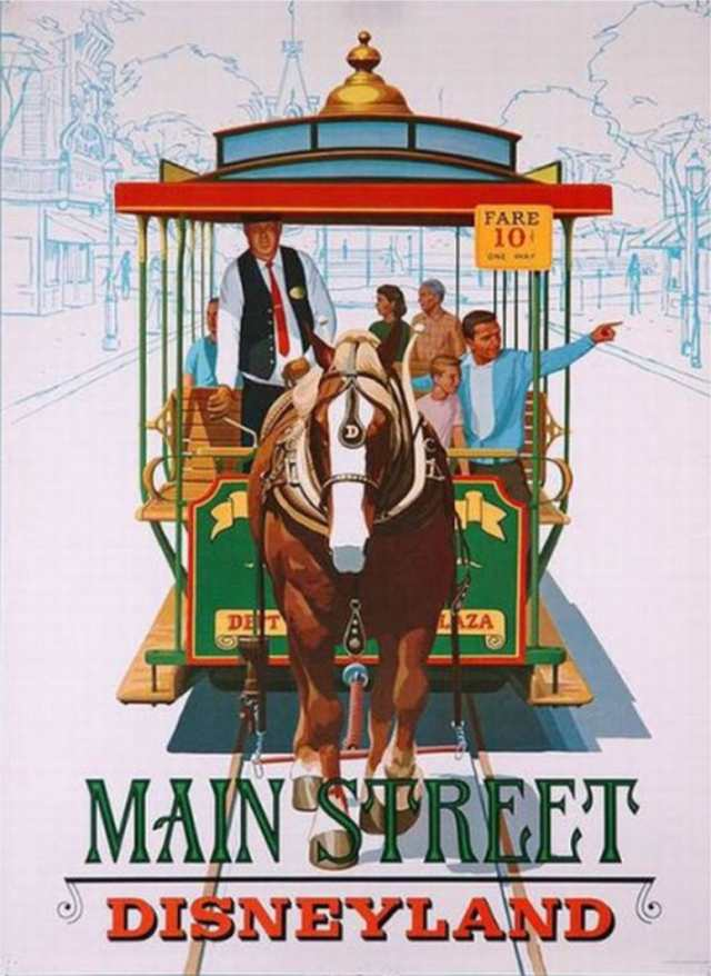 Horse-Drawn Street Cars Poster