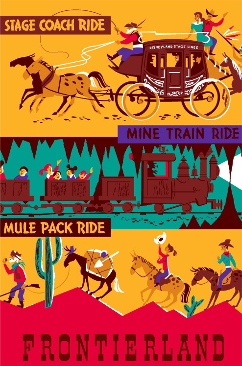 Pack Mules Through Nature's Wonderland Poster
