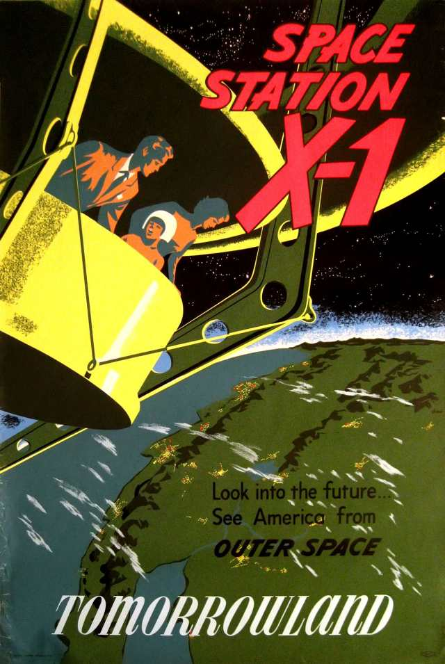 Space Station X-1 Poster