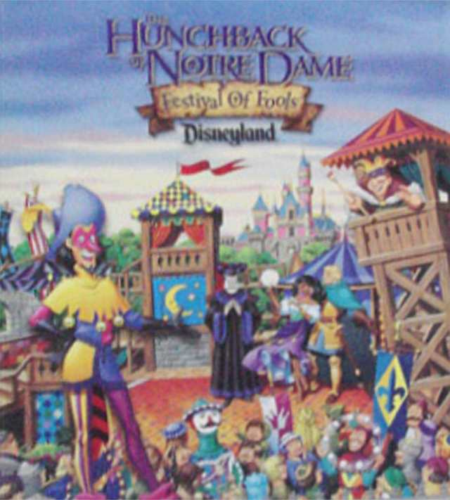 Hunchback Of Notre Dame Festival of Fools Poster