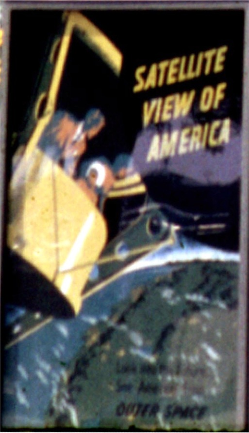 Satellite View of America Poster