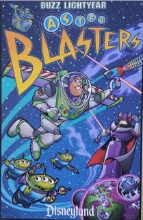 Buzz Lightyear Astro Blasters Poster
