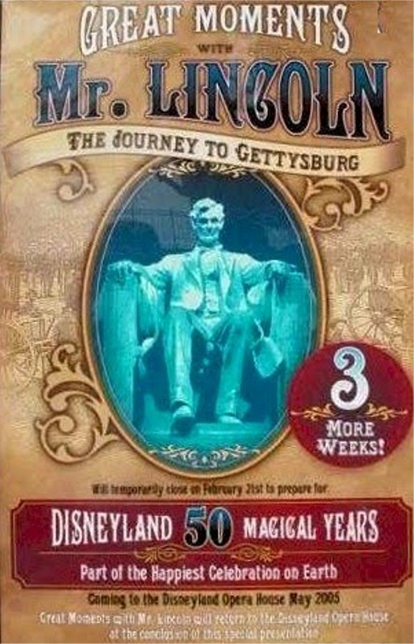 Disneyland-The First 50 Magical Years Poster