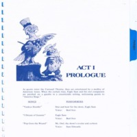 Act I Prologue