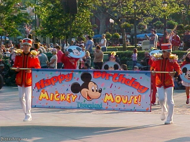 Mickey Mouse's Birthday Parade