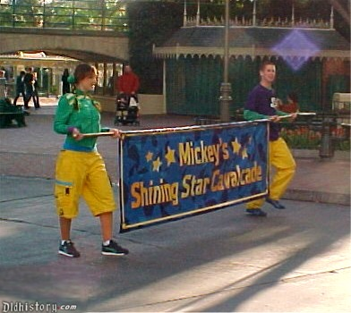Mickey's Shining Star Cavalcade