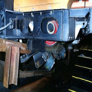 Damage To Passenger Car Wheel Assembly  After Fatal Accident