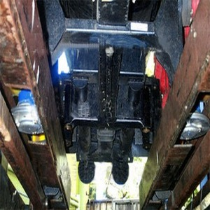Train Number 2 (I.M. Brave) Engine Undercarriage  After Fatal Accident