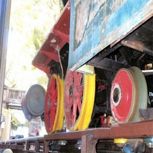 Wheel Assembly Of Train Number 2 (I.M. Brave) After Fatal Accident