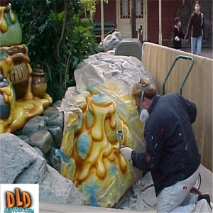 Painting The Honey For The Winnie The Pooh And Friends Meet And Greet