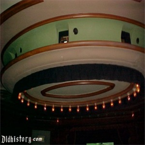 Ceiling With Projector Holes