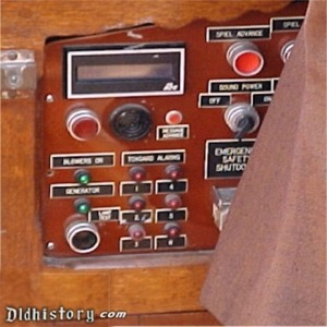 Left Side Operators Console