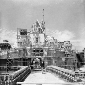 Scaffolding For Original Construction With Walt Disney