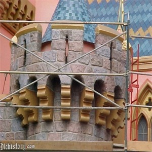 Close Up Of Turret After 50th Anniversary Refurbishment