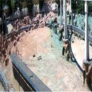 Lagoon Drained For Installation Of Finding Nemo Effects