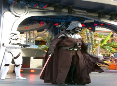 Darth Vader And Storm Trouper
