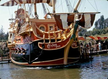 Bow Of Pirate Ship