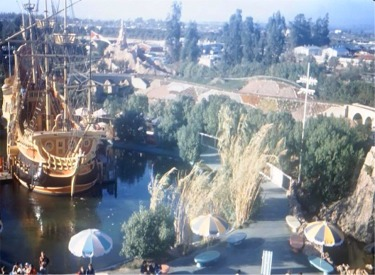 Pirate Ship, Seating And Cove