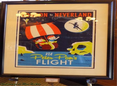 Peter Pans Flight Poster