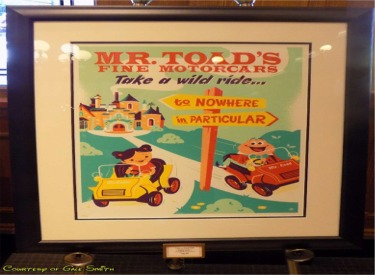 Mr Toad Wild Ride Poster