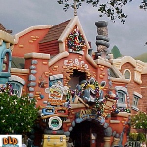 Christmas Decorations On Roger Rabbit