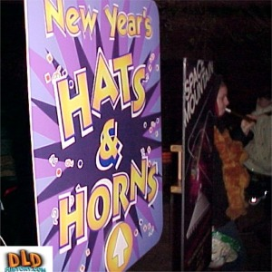Free Hats And Horns Sign