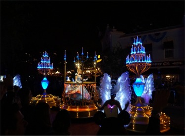 Cinderella Float