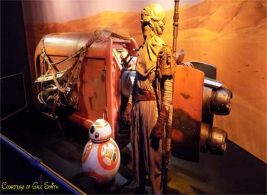 BB8 And Stage Props