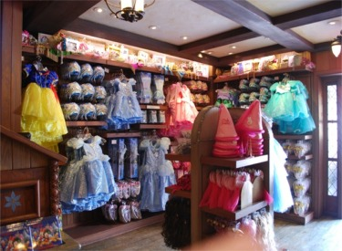 Inside Bibbidi Bobbidi Boutique