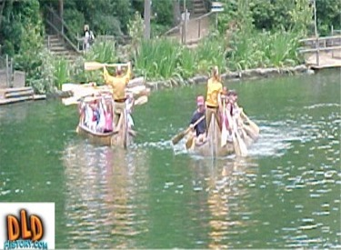 Guests Paddling The Rivers Of America