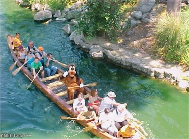 Guests and Goofy Paddling The Rivers Of America