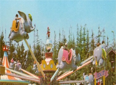 Original Dumbo Attraction With Timothy Mouse