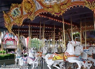 Close Up Of Carrousel
