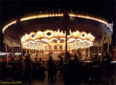Carrousel At Night