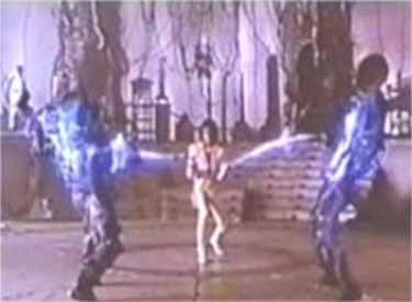 Captain EO Uses His Laser