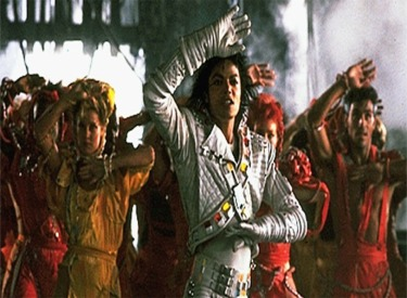 Captain EO And Dancers
