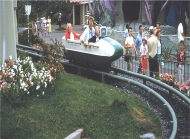 Original Bobsled Coming Into Load Area