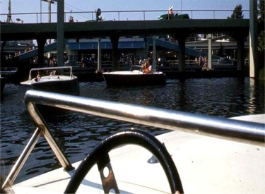 Motor Boat Cruise And Autopia And Submarine Load Area