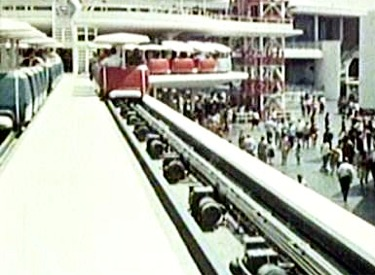 Entering Station From PeopleMover