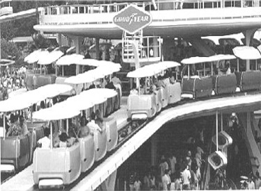 PeopleMover Entering Load Station
