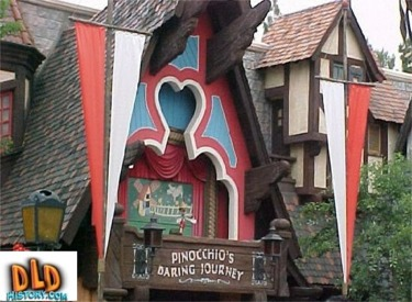 Sign And Front Of Attraction